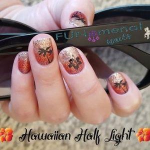 2/$20 color street nails hawaiian half light ombre